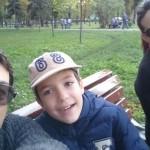 Selfie in parc oct2015